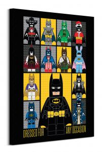 Lego Batman (Dress For Any Occasion) - obraz na płótnie