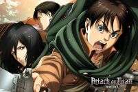 Attack On Titan Season 2 Scouts - plakat anime