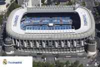 Real Madrid Stadion - plakat