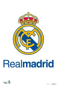Real Madrid Logo - plakat