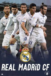 Real Madrid 2016/2017 - plakat