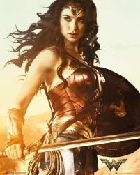 Wonder Woman Sword - plakat filmowy 40x50