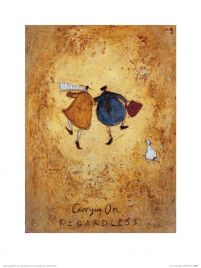 Carrying on Regardless - reprodukcja autorstwa sam toft