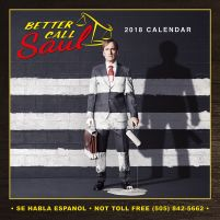 Better Call Saul - kalendarz 2018