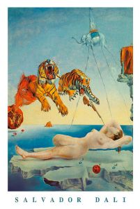 Salvador Dali Dream Caused By A Bee Flight - plakat