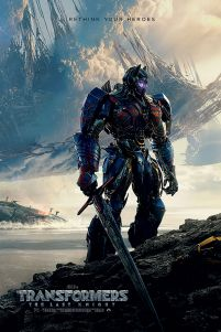 Transformers The Last Knight Rethink Your Heroes - plakat filmowy