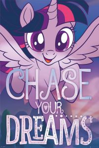 My Little Pony Movie Chase Your Dreams - plakat z filmu