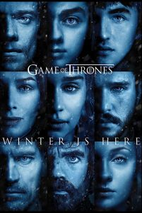 Game Of Thrones Winter is Here - plakat