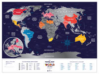 Holiday World - Mapa zdrapka