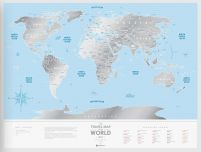 Silver World - Mapa zdrapka