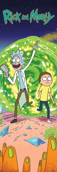 Rick and Morty (Portal) - plakat z serialu