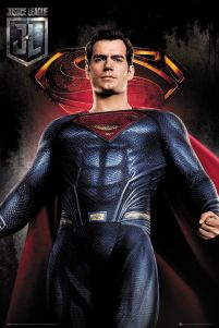 Justice League Superman - plakat filmowy