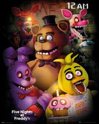 Five Nights At Freddy's - plakat