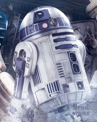 Star Wars The Last Jedi (R2-D2 Droid) - plakat