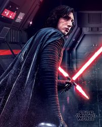 Star Wars The Last Jedi (Kylo Ren Rage) - plakat