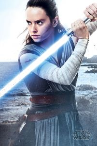 Star Wars The Last Jedi (Rey Engage) - plakat z filmu