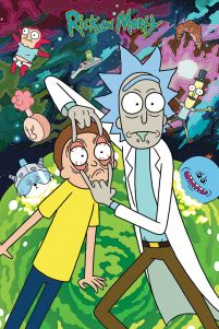 Rick and Morty (Watch) - plakat z serialu
