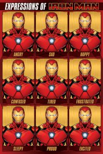 Avengers (Expressions Of Iron Man) - plakat