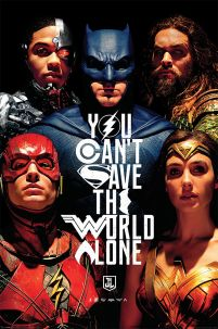Justice League Movie (Save The World) - plakat