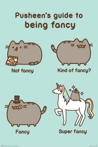 Pusheen (Super Fancy) - plakat