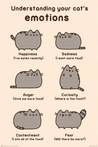 Pusheen (Cats Emotions) - plakat