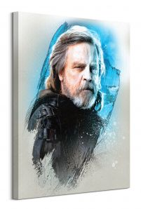 Star Wars: The Last Jedi (Luke Skywalker Brushstroke) - obraz na płótnie