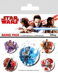 Star Wars The Last Jedi (Icons) - przypinki