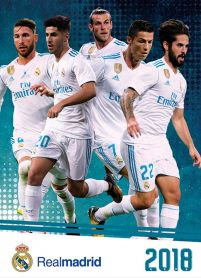 Real Madrid - kalendarz 2018