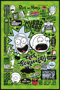 Rick and Morty (Quotes) - plakat