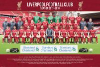 Liverpool Team Photo 17/18 - plakat