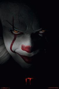 Stephen King It Pennywise - plakat z filmu