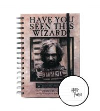Harry Potter (Wanted Sirius Black) - notes A5