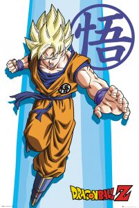 Dragon Ball Z SS Goku - plakat