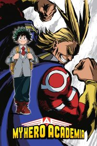 My Hero Academia (All Might Flex) - plakat o wymiarach 61x91,5 cm