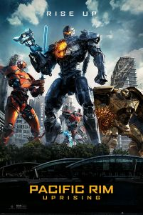 Plakat z filmu science-fiction Pacific Rim 2 Rebelia