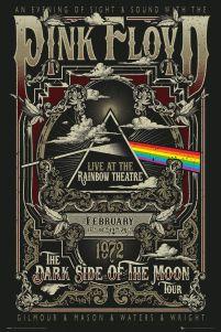 Plakat Z Zespołem Pink Floyd