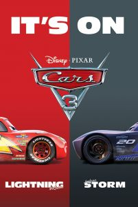 Plakat bajkowy - Cars 3 It's On