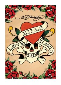 Ed Hardy (Love Kills Slowly) - reprodukcja