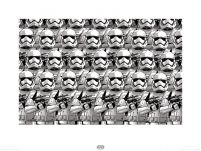 reprodukcja ścienna Star Wars The Force Awakens Stormtrooper