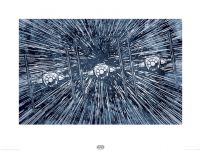 art print Star Wars The Force Awakens TIE Fighters