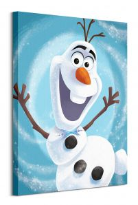 Olaf's Frozen Adventure Happy - obraz na płótnie 60x80