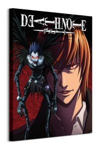 Death Note Light and Ryuk - obraz na płótnie 60x80