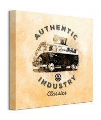 Canvas 40x40 cm VW Authentic Industry