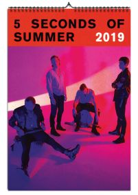 Kalendarz A3 5 Seconds Of Summer na 2019 rok