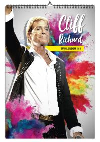 Kalendarz A3 Cliff Richard na 2019 rok