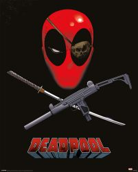 Deadpool Eye Patch - plakat z filmu 40x50 cm