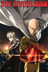 One Punch Man Destruction - plakat 61x91,5 cm