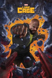 Luke Cage Wall Break - plakat Marvela 61x91,5 cm
