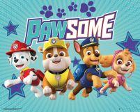 Plakat Z Bohaterami Bajki Psi Patrol