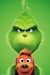 The Grinch and Max - plakat z bajki 61x91,5 cm